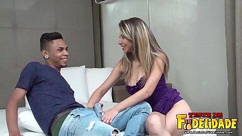 Making Off Sabrina e Cristian em seu primeiro Pornô