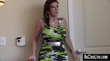 Big Tit Coed Cleo Hooks Up with XXX Legend Sara Jay!