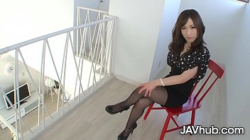 JAVHUB Stunning Japanese idol Okita Chikako gets fucked