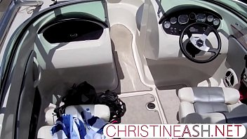 Christineashnet Christine On A Boat 26 Min
