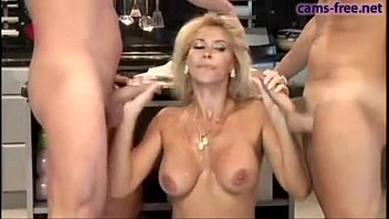 Huge tits sub in lingerie gets banged by her master