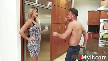 Teen Gets Big To Fuck Neighbor MILF Pussy- Mercedes Carrera