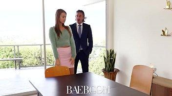 BAEB Brunette babe Jill Kassidy fucks for job in her interview