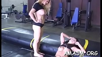 Man delights with two wet cracks in home female domination xxx