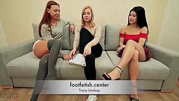 Forced Foot Worship - Tracy Lindsay - Humiliation Domination
