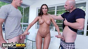 BANGBROS - MILF Rachel Starr Threesome With Jmac and Sean Lawless thumbnail