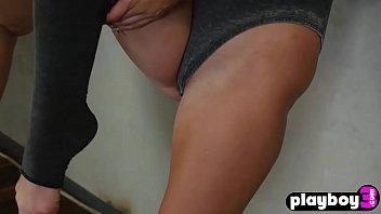Natural tighty babe models enjoyed naked for a camera