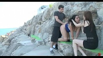 Bdsm city Gorgeous busty in public outdoor sex
