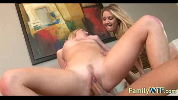 Husband and wife fuck the babysitter 878