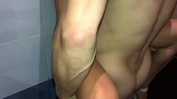 Schoolgirl fucked with a classmate at the school disco