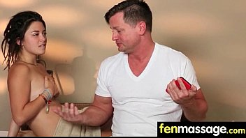 Husband Cheats with Masseuse in Room! 22