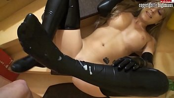 Latex gloves suppliers uk - Latex chick in gloves fucked
