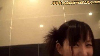 Teen girl surprise facial