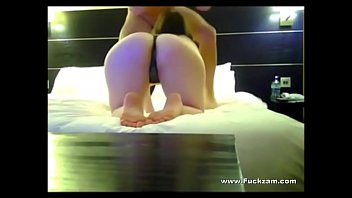 Guy Fucks Brunette Babe On Hidden Cam In Hotel Room - watch part 2 on HiddenCamPlus.com