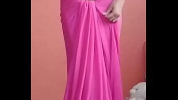 bhabhi saree strip boob show