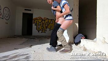 Gay Graffiti Bad Boys Fucking and Sucking - AsianTwinkVideo.Com