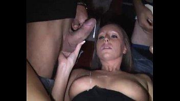 Gang creampie slut load