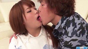 Shy Arisa Ando blows cock and fucks in hard scenes  - More at javhd.net