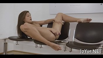 Sexy solo movies - Pink legal age teenager twat receives toyed