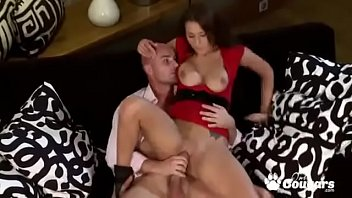 Big boobs brunette Roxy Taggart riding on hard dick