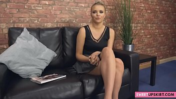 Upskirt in the job interview