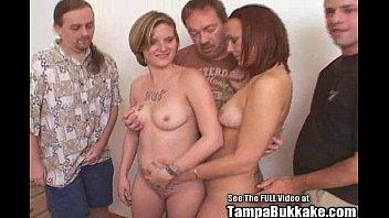 Tracy tampa bay amateurs Two party sluts get some fucking bukkake