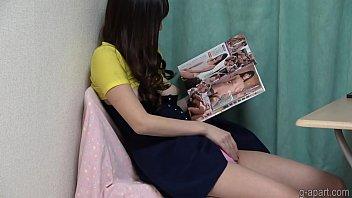 Hidden Cam Caught Japanese Teen Masturbating at Home