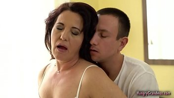 Mature slut Red Mary in hardcore porn