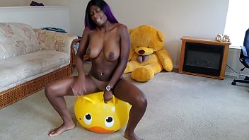 Big tit ebony solo - Bounce, masturbate and pop