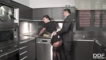 Sexy maid big ass