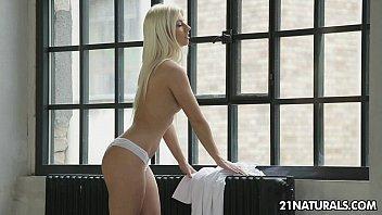 Sexy French blonde Jessy Volt enjoys a hot sex