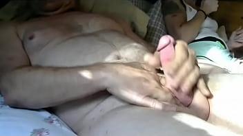 granny naked outside