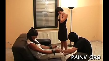 Hard nipple free porn - Slut gets a nipple torture session whilst being restrained