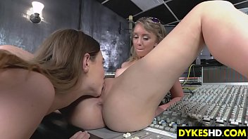 Needy Les Teens Playing With Her Dildo