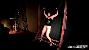 Aria giovanni red latex Awesome brunette honey aria giovanni