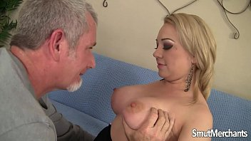 Striped knit crew - Young blonde girls fucked and cum in her mouth