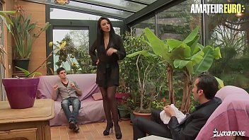 AMATEUR EURO – This Busty Polish MILF Ania ski Gs DP From French Hubby & Stepson