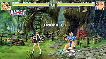 Bridget vs Chun Li  hentai mugen.