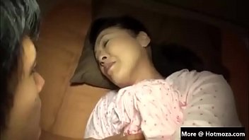 Japan Mother Fucking Infront Of Sleeping Dad Part 1