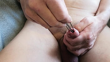 Extreme Gaping of Urethra Using Copper Wire - Again