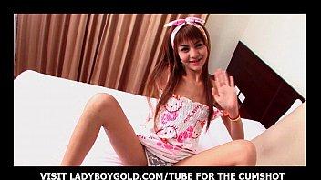 Ladyboy Sandy Pajama Cosplay Party
