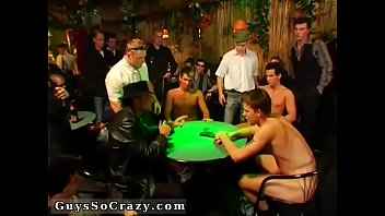 Gay strip poker london group The deals about to go down when Tony