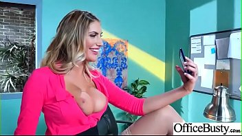 (August Ames) Office Girl With Round Big Boobs Enjoy Hard Sex movie-05 preview image