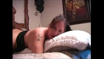 Husband shares his curvy wife with black bull