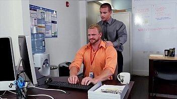GRAB ASS - New Employee Gets Broken In By The Boss, Adam Bryant