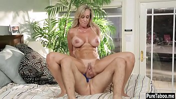 Super hot busty mature woman fills out his dirty fantasy