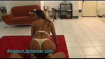 Rough lapdance by nasty czech brunette