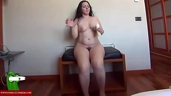 Eating cock hard Massaging her body and her pussy. raf025