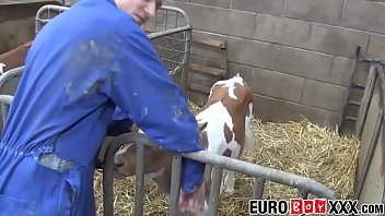 Gay love cock Homesteading twink making anal love with european homo