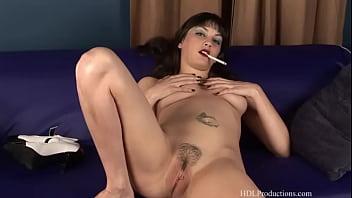 Breast feeding smoking cigarettes Angelina dee - smoking fetish at dragginladies